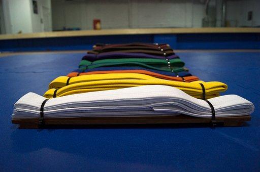 Belts, Colors, Martial Arts, Karate