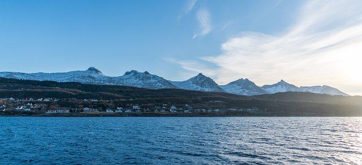 Norway Coast, Seven Sisters, Mountain Range