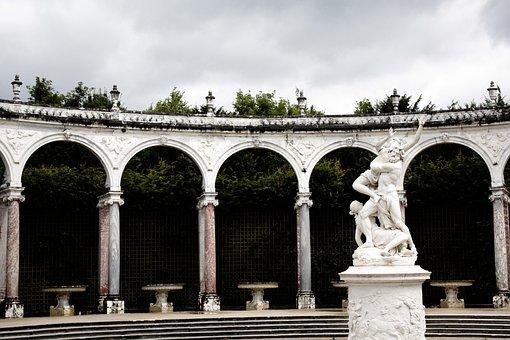 Mythology, Versailles, Paris, Sculpture, France