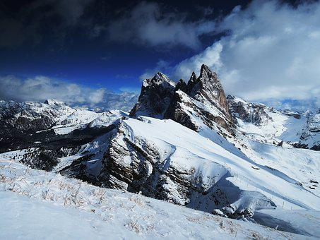 Dolomites, Mountains, Hill, Rock, Nature, Alpine