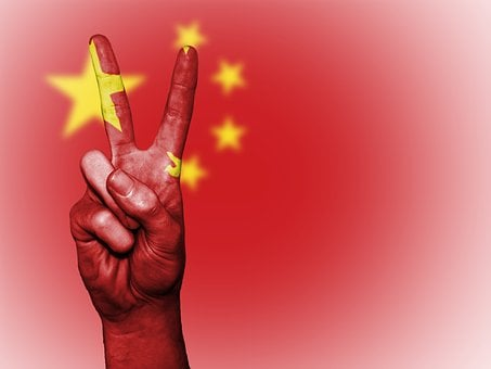 China, Flag, Peace, Chinese, Asia, Country, Red, Banner