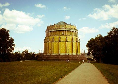 Befreiungshalle, Walhalla, Weltenburg, Regensburg, Dome