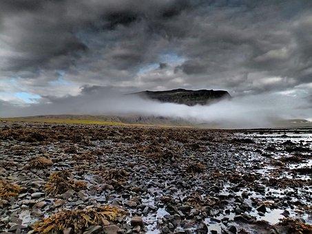 Iceland, Landscape, Rocks, Icelandic, Scandinavian