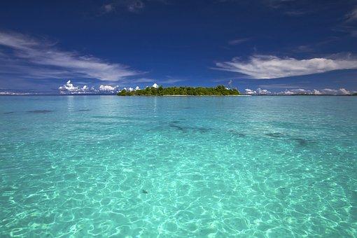 Landscape, Sea, Kojima, Southern Countries, Coral Reefs