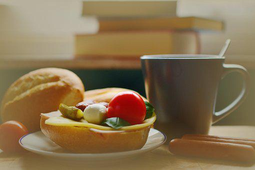 Breakfast, Snack, Sandwich, Start The Day, Break, Roll