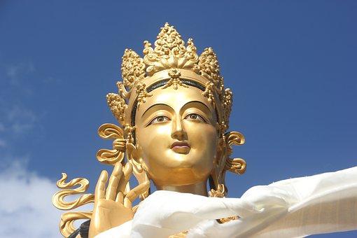 Chinese God, Bhutan, Thimphu