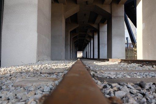 Rail, Vintage, Railway, Railroad, Steel, Wagons
