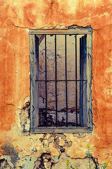 Window, Wall, Old House, Abandoned, Ruin, Damaged