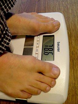 Kg, Control, Man, Weight, Barefoot, Horizontal, Fitness