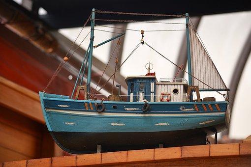 Model, Boat, Wood, Ship Model, Exhibition, Marine