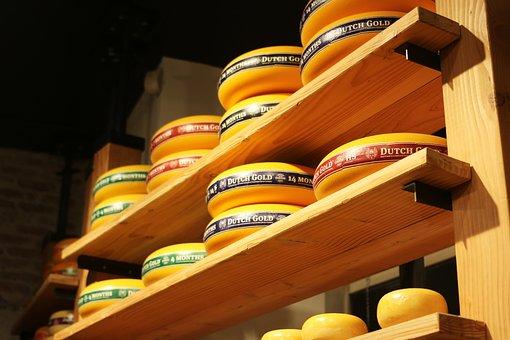 Cheese, Amsterdam, Half-circle, Round, Yellow, Band