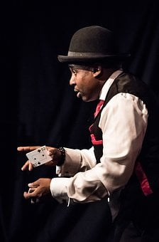 Magician, Face, Performance, Magic, Portrait, Action