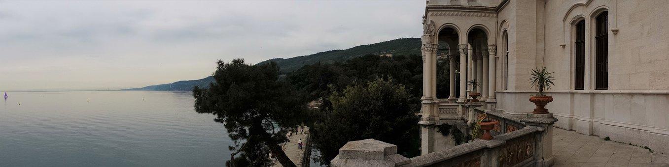Miramare Castle, Architecture, Trieste