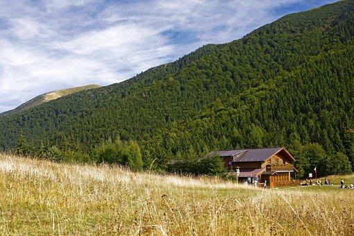 Nature, Cottage, Autumn, Slovakia, Country, Mountains