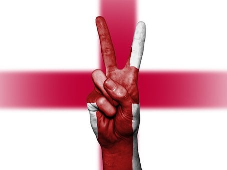 England, Peace, Hand, Nation, Background, Banner