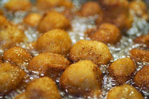 Fried, Breaded, Kitchen, Frying, Breadcrumbs, Oil