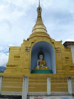 Burmese, Buddha, Temple, Buddhism