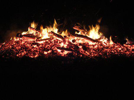 Fire, Embers, Brand, Easter Fire, Burn, Flame, Campfire