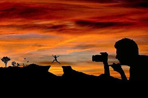 Photographer, Photo Shoot, Camera, Photograph, Man