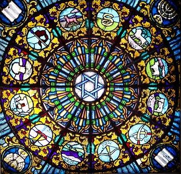 Vitrage, Stained Glass, Window, Church Window, Church