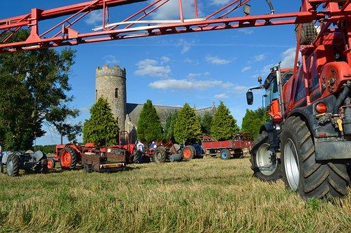 Crop Sprayer, Church, Harvest Festival, Haveringland
