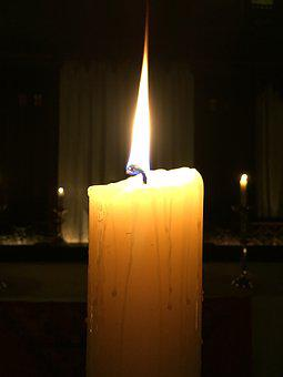 Candle, Paschal Candle, Easter Candle, Fire