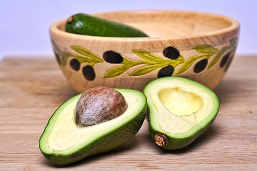 Avocado, Monounsaturated, Fats, Vitamin E, Cholesterol