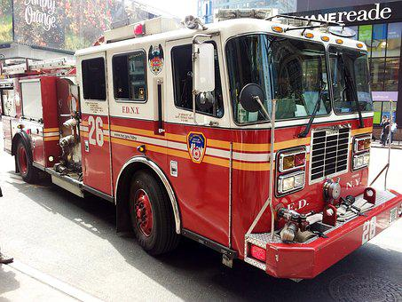 New York Fire Truck, New York, Fire, Truck, New, York
