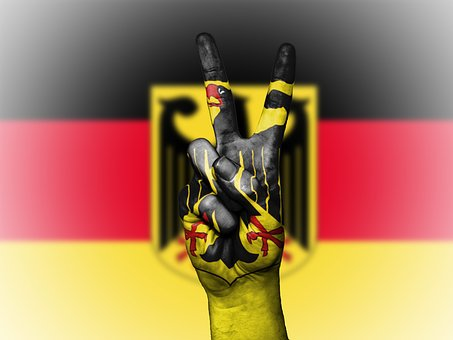 Germany Coat Of Arms, Germany Peace, Hand, Nation