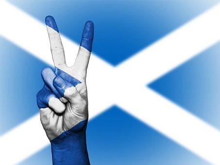 Scotland, Uk, Britain, Peace, Hand, Nation, Background