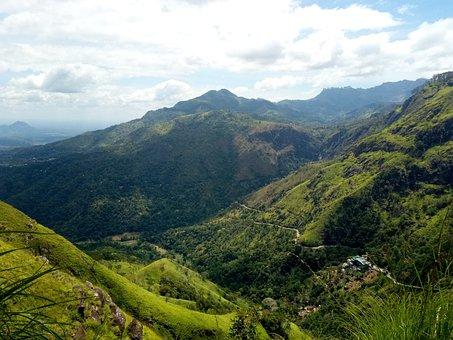 Mountain, Sri Lanka, Nature, Landscape, Travel, Hill