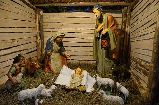 Jesus, Bethlehem, Crib, Holidays, The Holy Family
