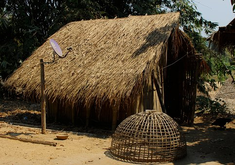 Straw Hut, Home, House, Hut, Traditional, Straw, Roof