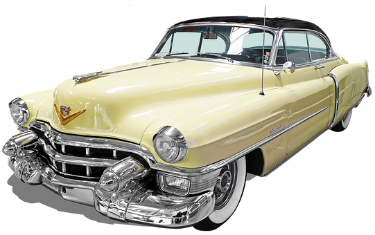 Cadillac-convertible-coupe, Isolated, Oldtimer, Pkw