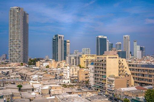 Urban, Landscape, Israel, Tel Aviv, Florentine, Houses