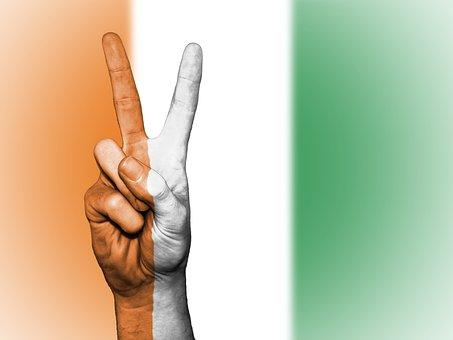 Ivory Coast, Cote D'ivoire, Peace, Hand, Nation