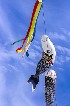 Carp Streamer, Streamers, May, Japan, Festival