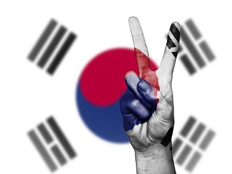 South Korea, South, Korea, Peace, Hand, Nation