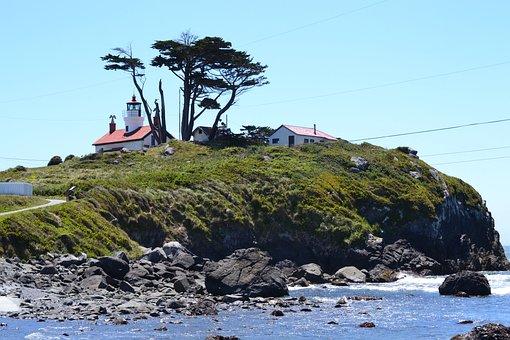 Crescent, City, Lighthouse