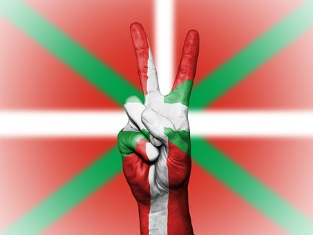 Ikurrina, Peace, Hand, Nation, Background, Banner