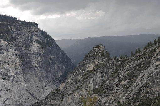 Yosemite, Mountains, Nature, Park, Landscape