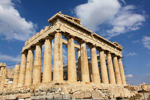 Parthenon, Greece, Acropolis, Athens, Greek, Ancient