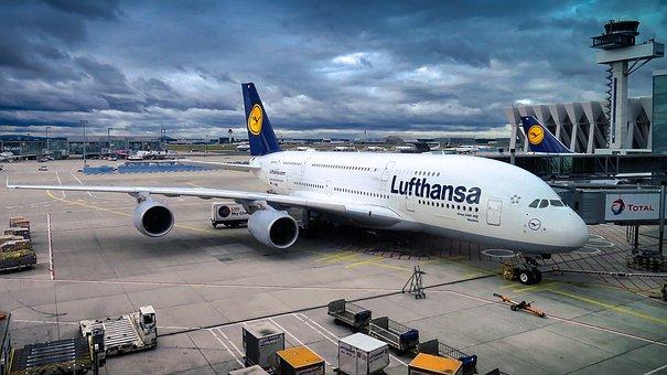 Airbus, A380, Aircraft, Passenger Aircraft, Flying