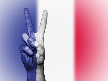 France, Peace, Hand, Nation, Background, Banner, Colors
