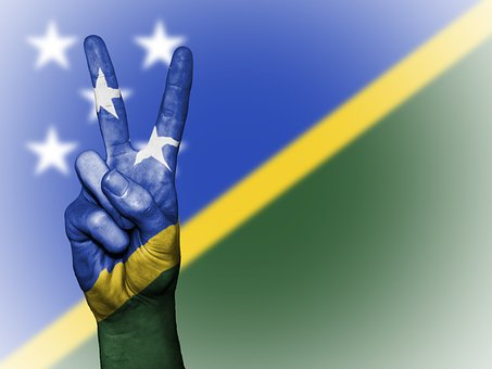 Solomon Islands, Solomon, Islands, Peace, Hand, Nation