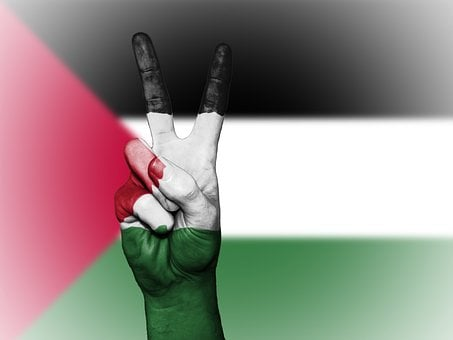 Palestinian Territories, Peace, Hand, Nation