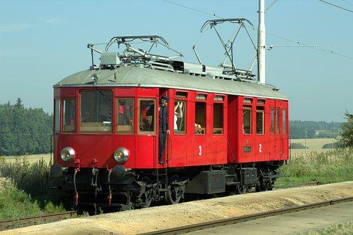 Railway, Historically, Railcar, Museum Locomotive