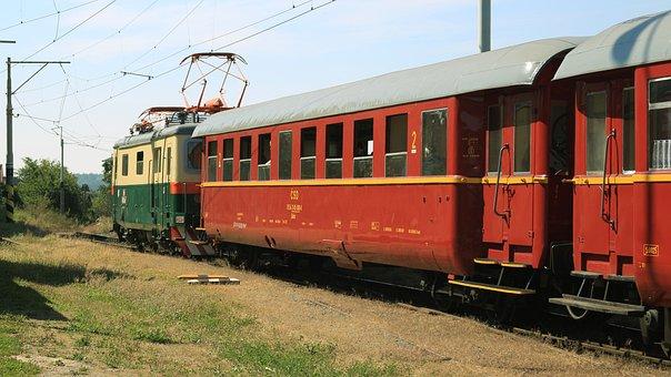 Railway, Museum Train, Electric Locomotive