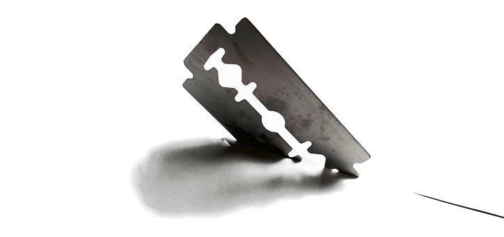 Razor Blade, Blade, Sharp, Cut, Section, Shave