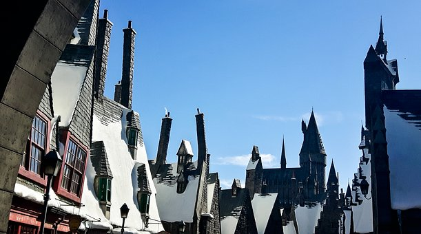 Diagon Alley, Harry Potter, Roofs, Universal Studio